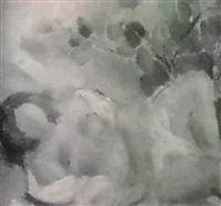 desnudo femenino en malva by antonio valdivieso