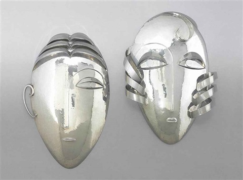 masks pair by franz hagenauer