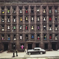 new york city (girls in the windows) by ormond gigli