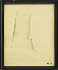 m. d. (from merce cunningham portfolio) by jasper johns