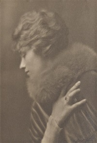 portrait of a woman by arnold genthe