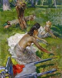 la détente sur l'herbe by fabien fabiano