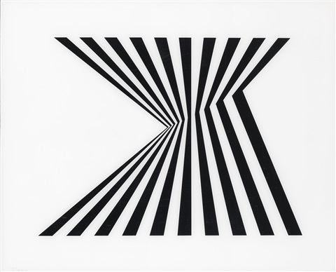 untitled fragment 1 by bridget riley