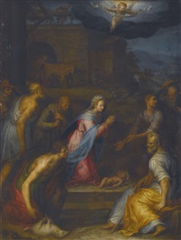 the adoration of the shepherds by giovanni (il cosci) balducci