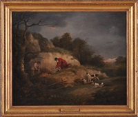 terriers ratting by dean wolstenholme the younger