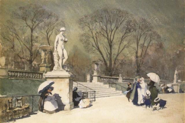 Le jardin du luxembourg escalier de fleurus v nus au for Le jardin de venus x