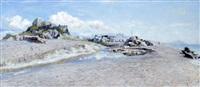italie, bord de mer by alexandre smirnov