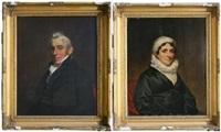 le général mathews nicoll and sarah nicoll (2 works) by samuel lovett waldo
