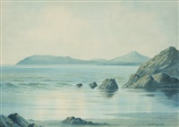 bray head and killiney bay by douglas alexander