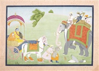 krishna releasing the defeated rukma by anonymous-indian (19)