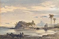 ilha boa viagem, rio de janeiro by eduard hildebrandt