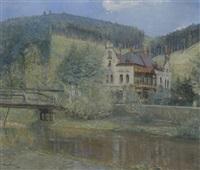 villa in hombok/mähren by erich hurden