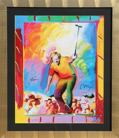 jack nicklaus by peter max