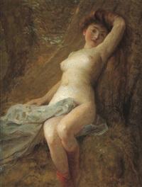 weiblicher akt by rudolf hausleithner