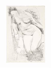 female nude (2 works) by anthony caro
