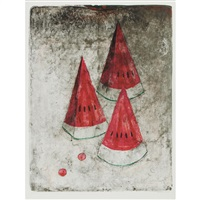 pasteque #2 (from mujeres) by rufino tamayo