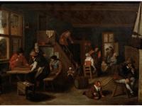 a tavern interior by jan de groot the elder