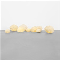 rock lamps (set of 9) by andre cazenave