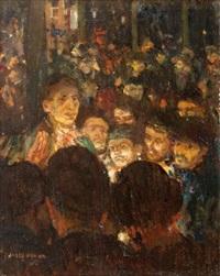 l'assemblée (sketch) by jules adler