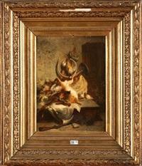 trophée de chasse by jean alexandre rémy couder