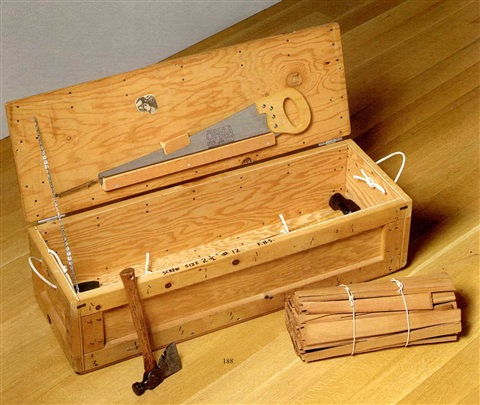untitled tool box by horace clifford westermann