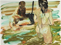 untitled (study for bermuda triangle) by eric fischl