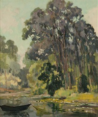 the lake at baldwin ranch by florence upson young