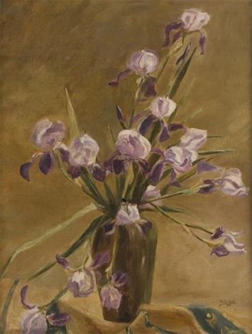vase fleuri diris by alice halkett
