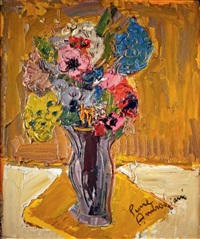 vase de fleurs by pierre ambrogiani