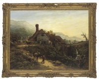 south view of the watermill, ventnor, isle of wight by harriet arnold