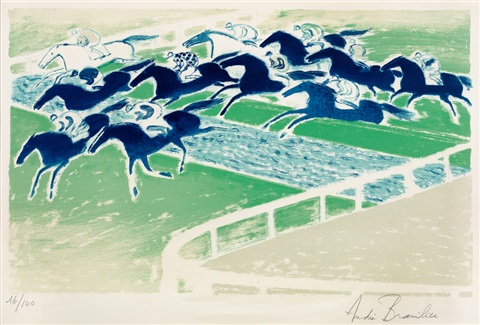 賽馬 horse racing by andré brasilier