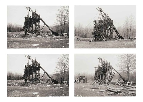 coal tipple goodspring pa 4 works by bernd and hilla becher