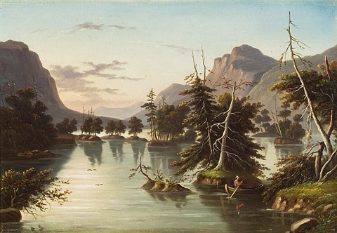 boating in the hudson river valley by thomas chambers