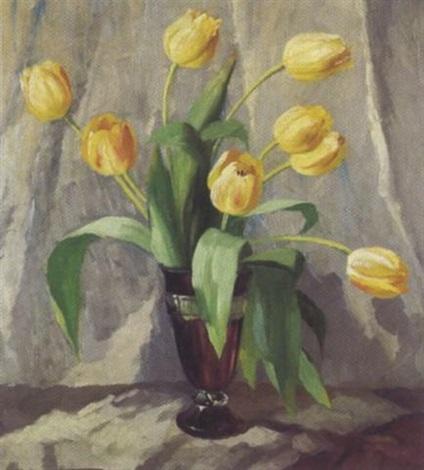 gelbe tulpen by elisabeth krüger