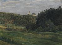 burg kronberg im taunus by wilhelm trübner