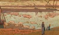 porteuses d'eau sur les bords du nil by pierre joseph bepi-martin