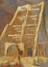 study for in barri gotic by rick amor