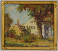 old house, cove hill by marguerite stuber pearson