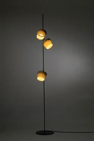 Desert storm floor lamp from Hand made series by Nir Meiri on artnet