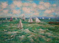 sailing boats by jack cudworth