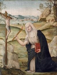 saint bridget by girolamo del pacchia
