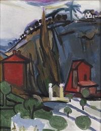 la colline bleue by françoise gilot