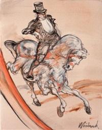 cavalier de cirque by claude weisbuch