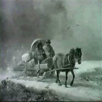 der pferdeschlitten by alois bach