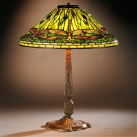 dragonfly table lamp by tiffany studios