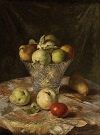 bodegón con manzanas by gonzalo bilbao martínez