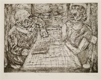 the window by leon kossoff