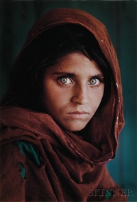 afghan girl, refugee camp, pakistan by steve mccurry
