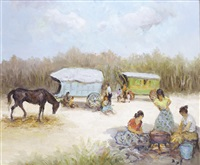 le camp de gitans by marcel dyf
