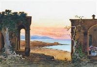 the maltese coast at dusk by nicholas krasnoff
